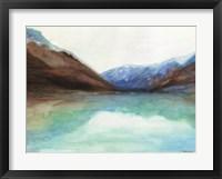Framed Mountain Lake 6