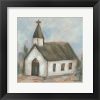 Framed Chapel on the Hill
