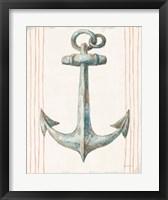 Framed Floursack Nautical V no Words