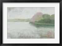 Framed Nonquit Pond in May v2