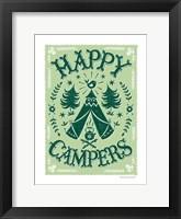 Framed Happy Campers