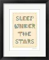 Framed Sleep Under the Stars