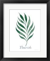 Framed Botanic Inspiration I