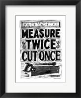 Framed Measure Twice II