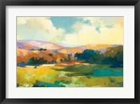 Framed Daybreak Valley Crop