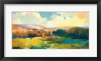 Framed Daybreak Valley