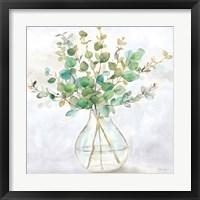Framed Eucalyptus Vase II