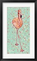 Framed Flamingo Panel II