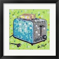 Framed Kitchen Sketch Toaster