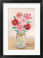 Framed Floral Jar II