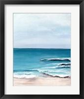 Framed Oceanside View I