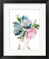 Framed Floral Vase I