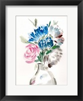 Framed Floral Vase II
