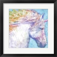 Framed Colorful Unicorn