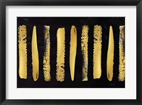 Framed Golden Stripes II