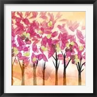 Framed Pink Trees