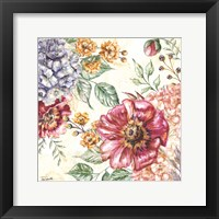 Framed Wildflower Medley Square II