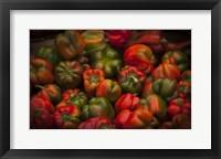Framed Red Peppers