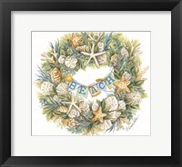 Framed Coastal Beach Wreath