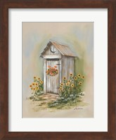 Framed Country Outhouse I