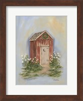 Framed Country Outhouse II