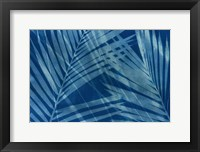 Framed Cyanotype Tropical VIII