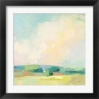 Framed Summer Sky II