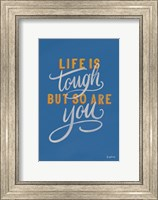 Framed Encouraging Words - Tough