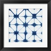 Framed Shibori Square VIII