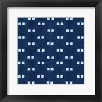 Framed Shibori Square VI