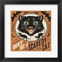 Framed Scaredy Cats III