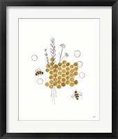 Framed Bees and Botanicals IV