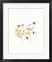 Framed Bees and Botanicals III