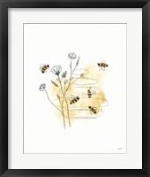 Framed Bees and Botanicals I