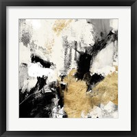 Framed Neutral Gold Collage II