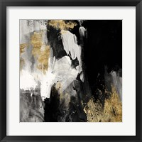 Framed Neutral Gold Collage III