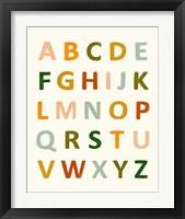 Framed ABC 123 I