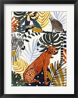 Framed Jungle Jumble I