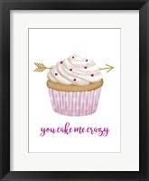 Framed Valentine's Cupcake I