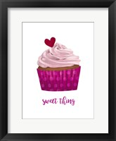 Framed Valentine's Cupcake II