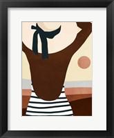 Framed Sunseeker Bathers I