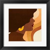 Framed Sunseeker Portrait II