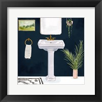 Framed Boho Bath Sinks I