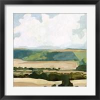 Framed Fieldscape I