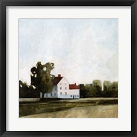 Framed Quiet Farmhouse I