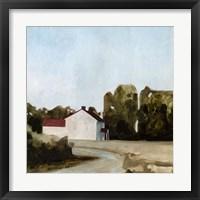 Framed Quiet Farmhouse II