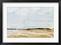 Framed Quiet Coast I