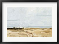 Framed Quiet Coast II