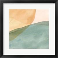 Framed Pastel Color Study III