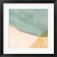 Framed Pastel Color Study IV